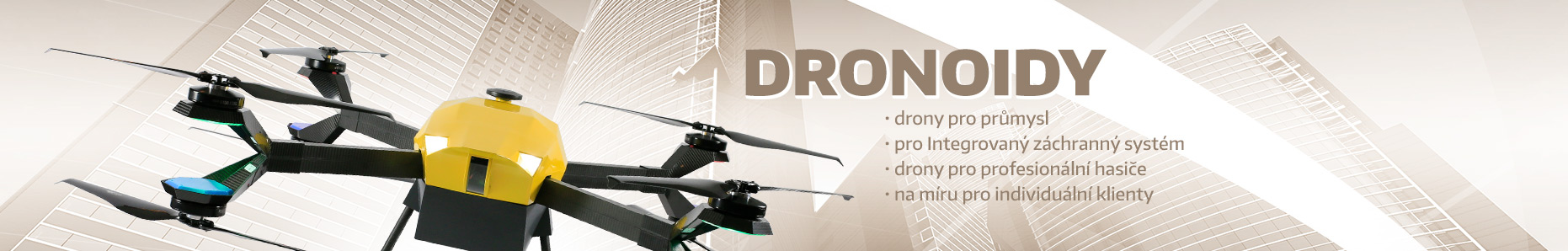 Dronoidy - drony pro profesionály
